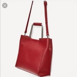 Zara Red purse